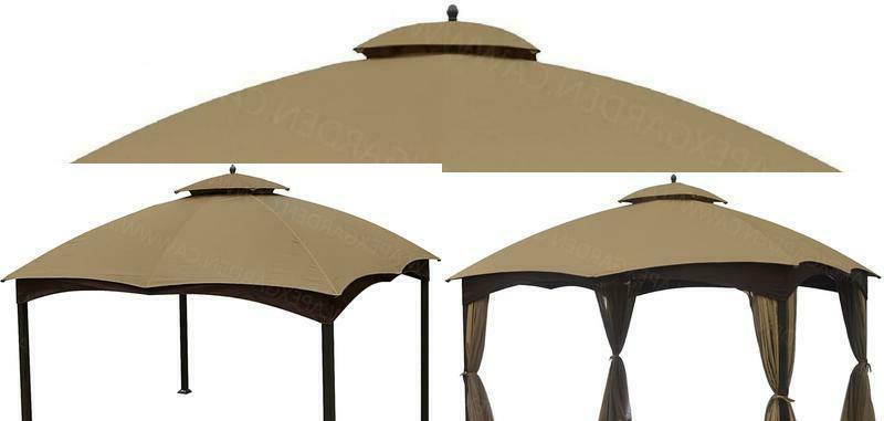 canopy top replacement 10x12 patio gazebo pavilion