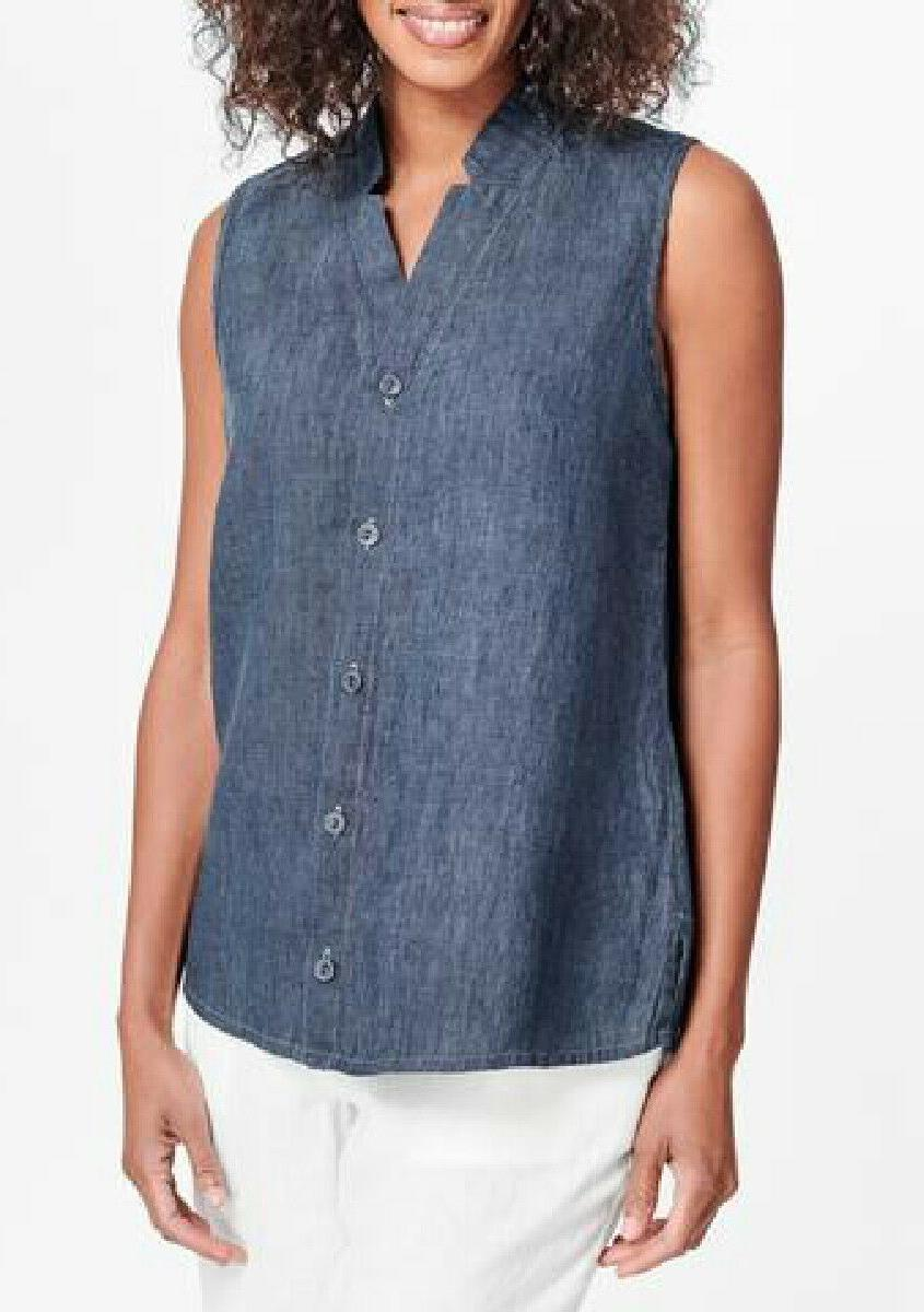 deisgns linen shirt s nwot gazebo blouse