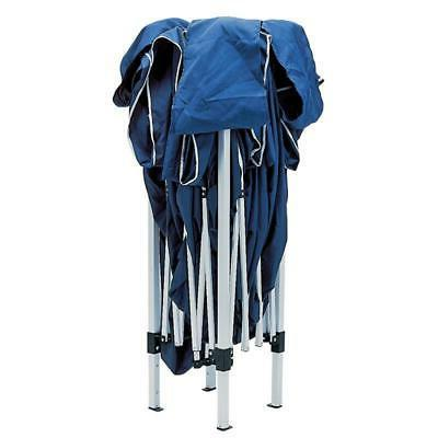 draper blue concertina gazebo 3m x 3m