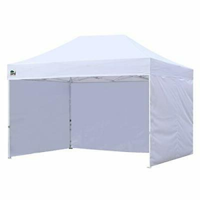 Eurmax 8x12 Ez up 4 Wall Canopy Instant Outdoor Party Shade Si