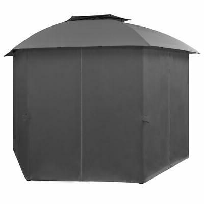 vidaXL Tent Curtains Hexagonal 11.8'x8.7'