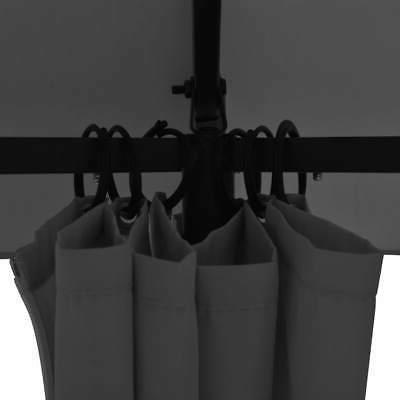 vidaXL Tent Curtains 11.8'x8.7'