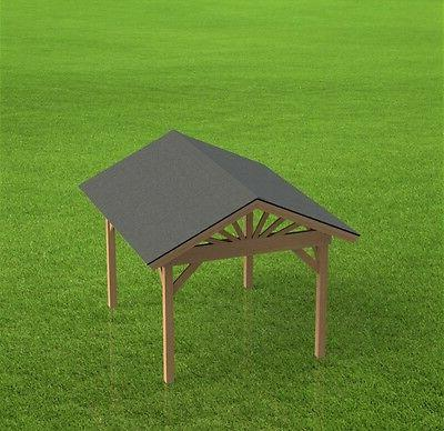 gazebo building plans gable roof perfect