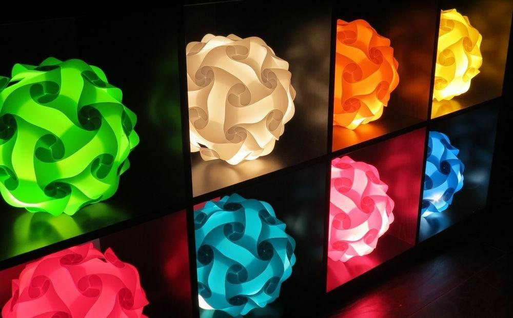 Infinity Lamps Jigsaw ZE 10 Pieces 21 & 3 Sizes