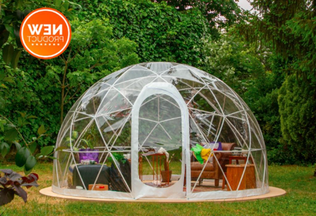 new bubble tent garden igloo plant geodesic