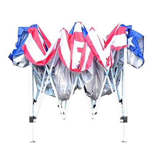 Outsunny Pop-Up Canopy Tent w/