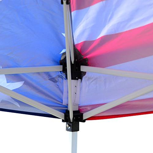 Outsunny 10' x 10' Pop-Up Canopy Party Tent Mesh