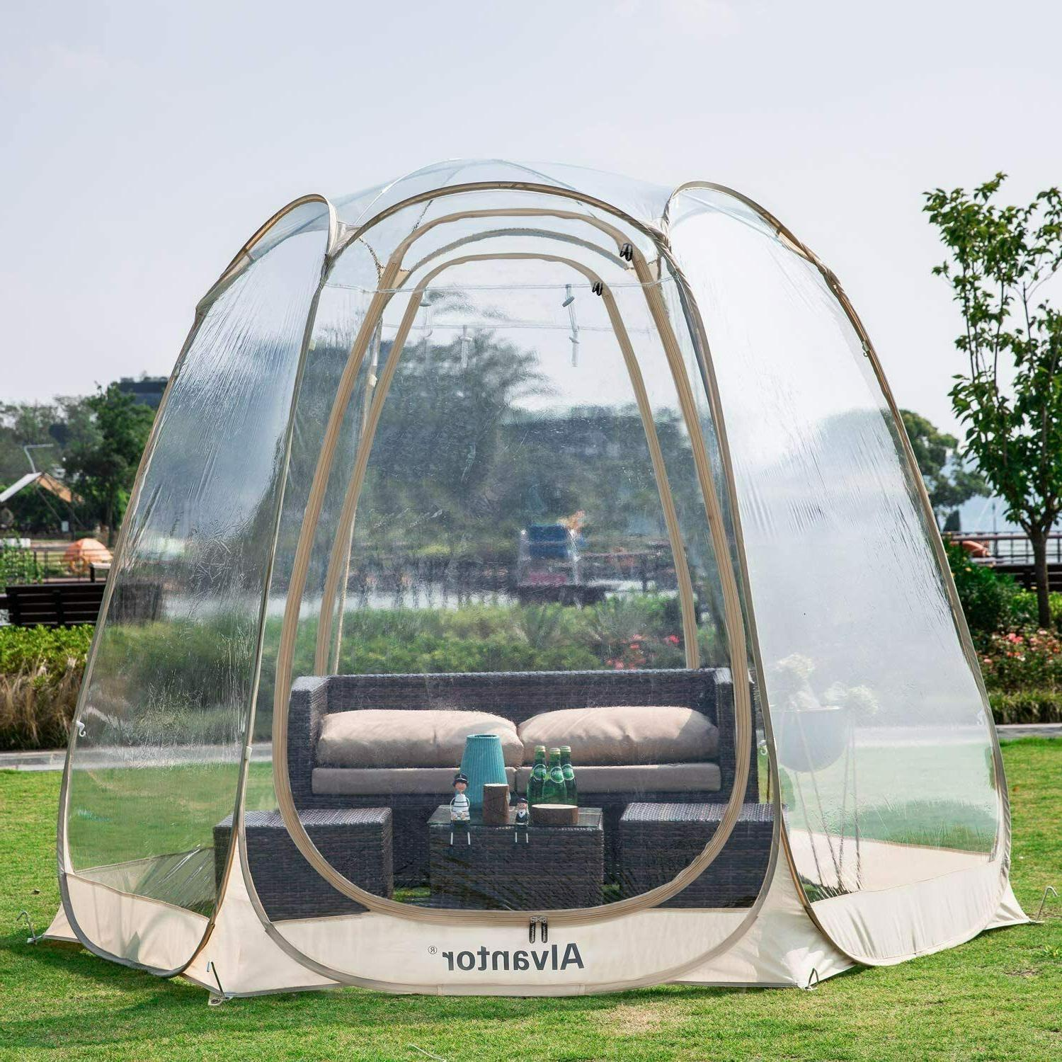 Pop Up Bubble Tent Weather Pod Patios