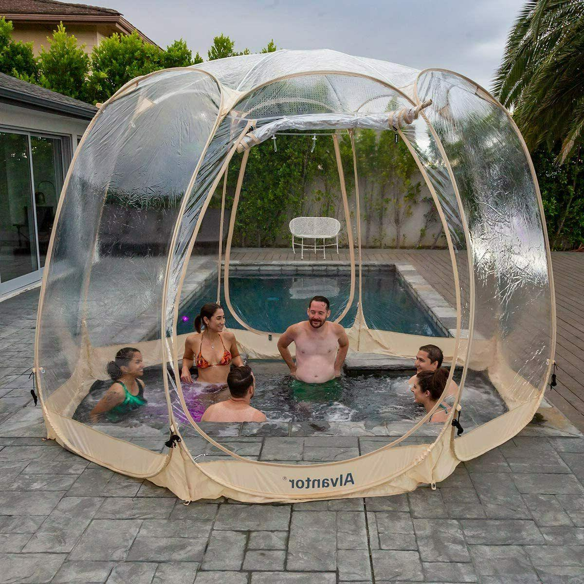 Pop Up Bubble Tent House Pod Camping for Patios