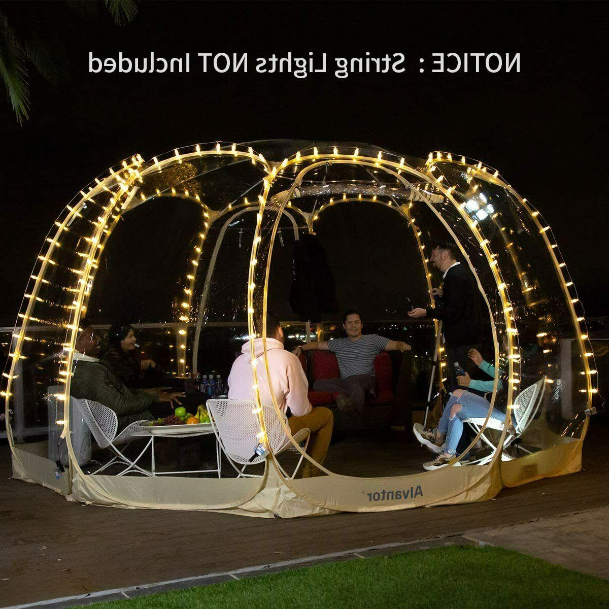 Pop Up Portable Bubble Pod Patios