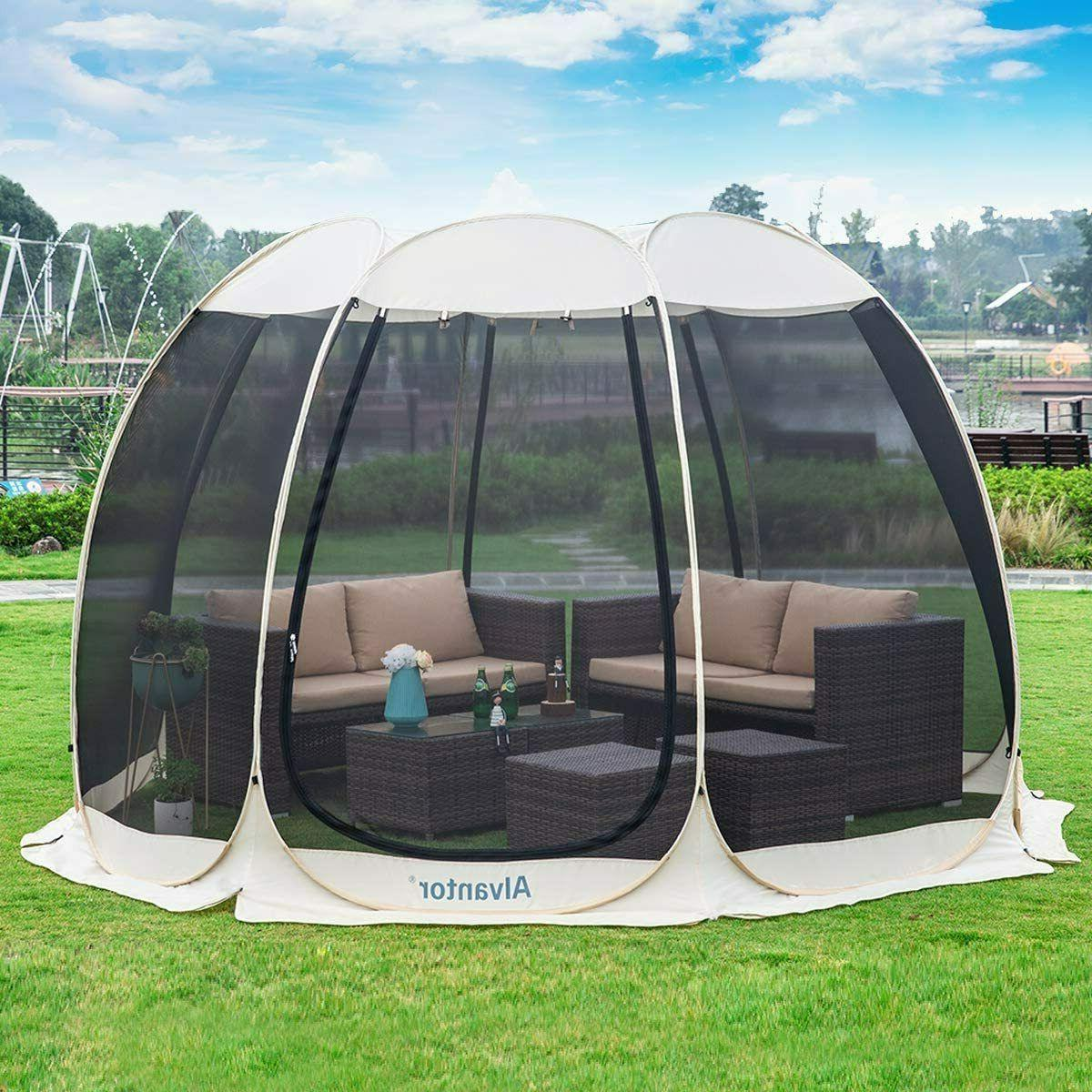 pop up screen house room outdoor camping