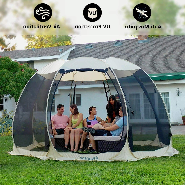 House Tent Canopy Gazebo 6-8 Patio