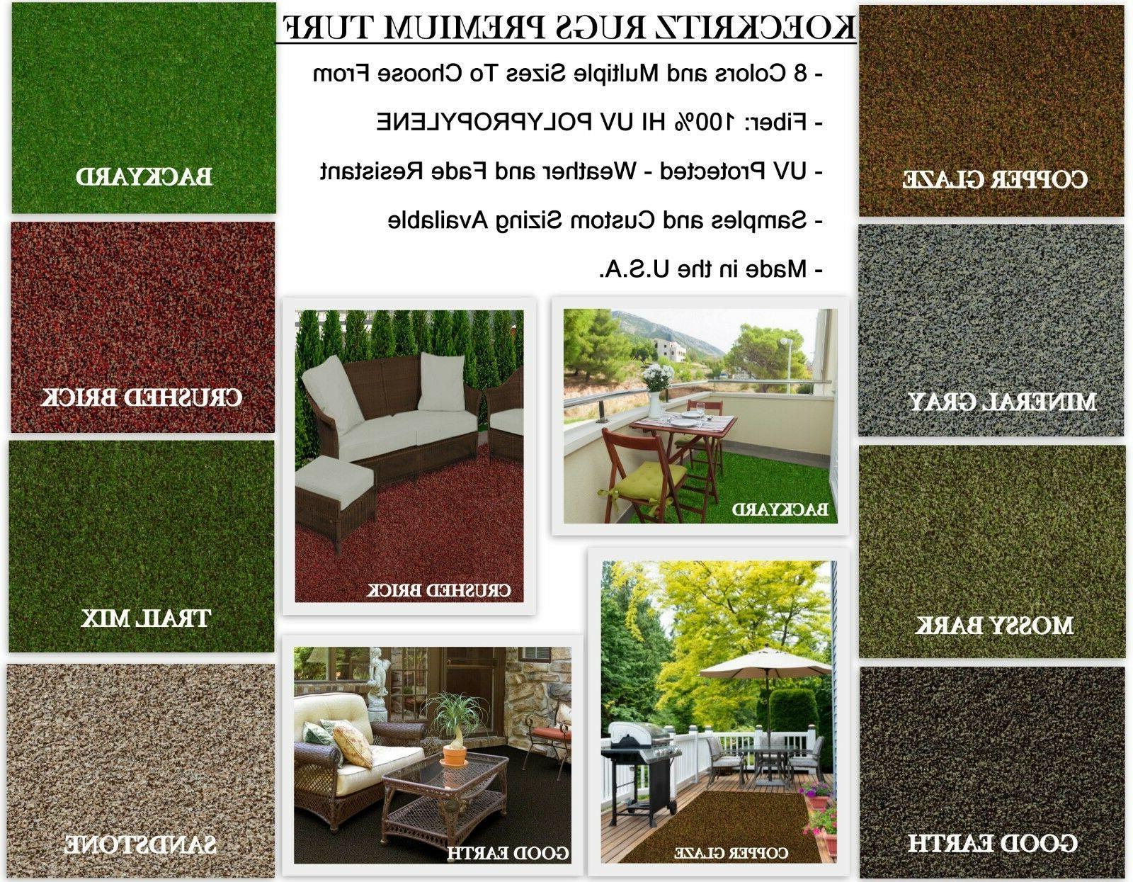 premium indoor outdoor artificial turf rugs runners