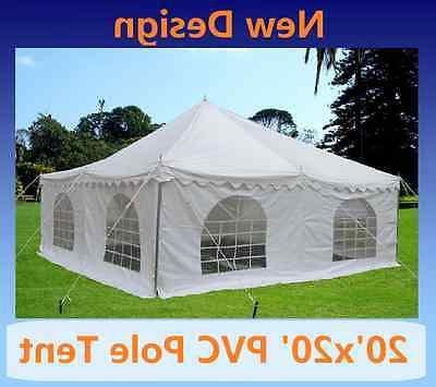 pvc pole tent party wedding