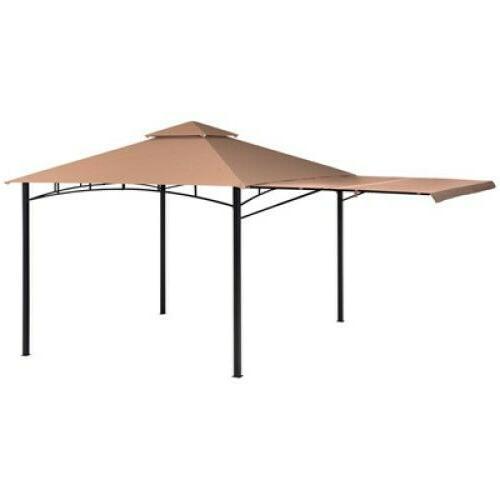 redwood gazebo steel bronze cover 11 x