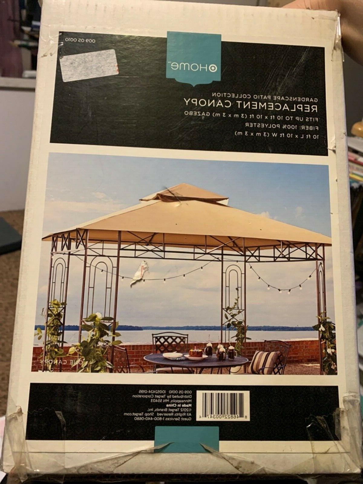 replacement canopy for a garden scape patio