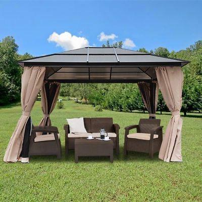 resort 10 x 12 hardtop polycarbonate roof