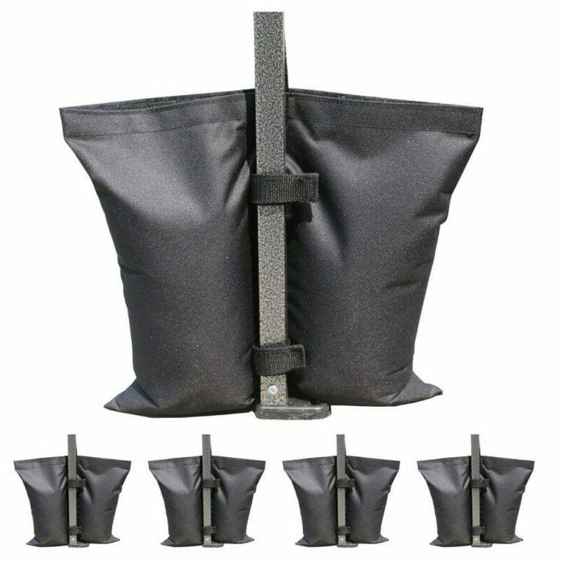 set of 4 weight sand bags