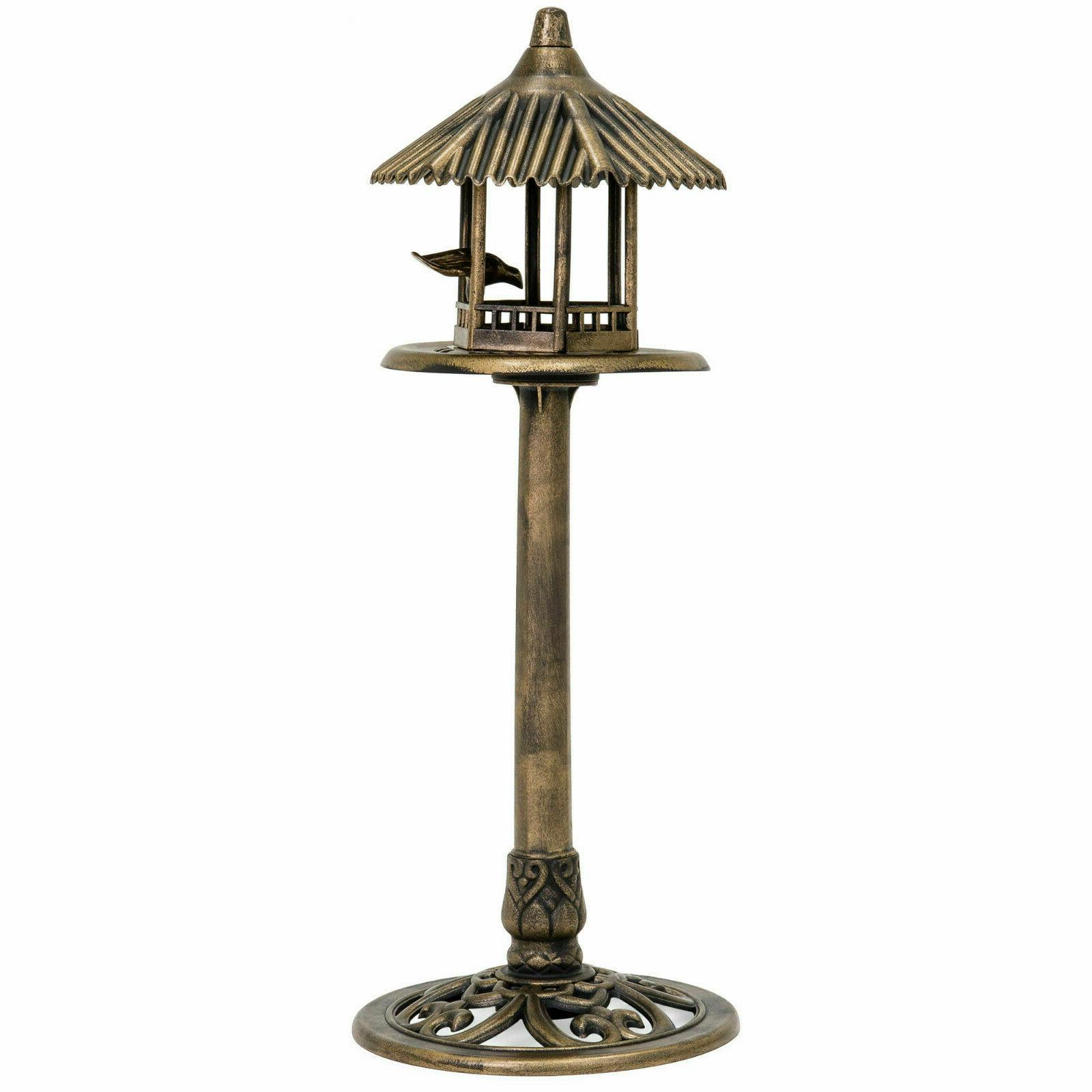 small antique outdoor gazebo top bird feeder