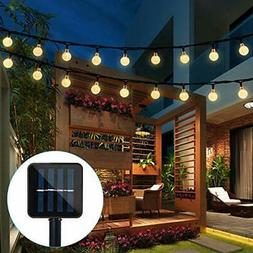 Luces De Navidad Con Poder Solar 20 LED Guirnalda Decoracion
