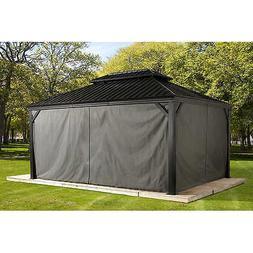 Sojag Messina Sun Shelter Gazebo Curtains, Privacy/Shade, 10