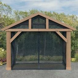 Yardistry Mosquito Mesh Kit, Fits 14' x 12' Pavilion, PAVILI