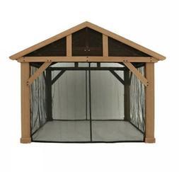 Yardistry Mosquito Screen Kit For 14x12 Pavilion, No Gazebo,