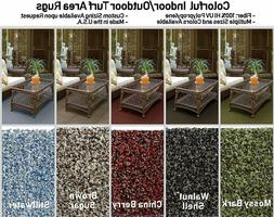 Multi-Colored Indoor/Outdoor Turf Area Rugs. Perfect for Gaz