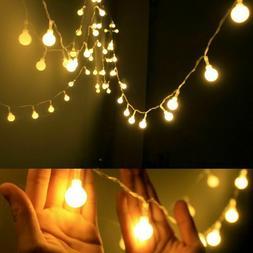 New Globe String Lights LED Outdoor Patio BBQ Garden Gazebo