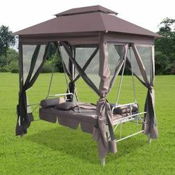 newest gazebo swing chair seat sunbed outdoor