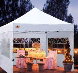 Outdoor Canopy Tent 10x10 Gazebo Pop Up Party Tent Wedding I