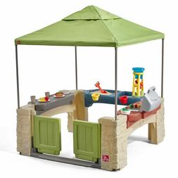 Outdoor Child Playhouse Play Center Ground Patio Kids Toddle