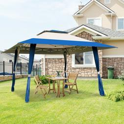 Outdoor Folding Gazebo Canopy Shelter Awning Tent Patio