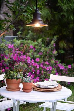 Outdoor Pendant Lighting Indoor Hanging Lights Plug In Patio