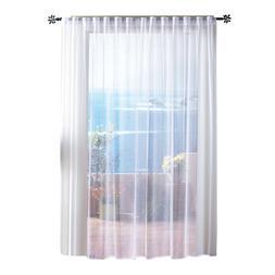 Outdoor Single Curtain Mesh Sheer Panel, Gazebo Patio Pergol