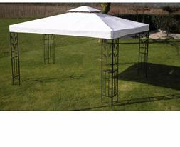 Patio Marquee Gazebo Canopy Tent Large Pavilion Shade Steel