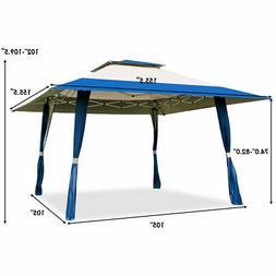 Patio Outdoor Heavy Duty 13'x13' Folding Canopy Shelter Awni