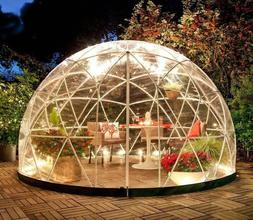 Plant Geodesic Dome Walk In Gazebo Greenhouse Weather Proof