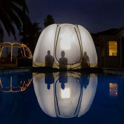 pop up portable bubble tent weather pod