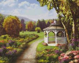Print by artist Unknown - The Old Gazebo - Product Code: AG0