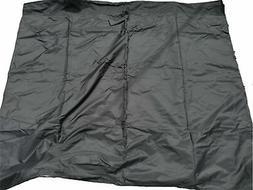 Privacy curtain for Gazebo 10X12 Black