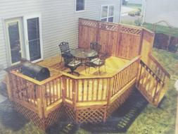 Privacy Grill Deck Plans Do-it-yourself Building Blueprints