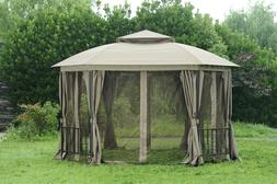 Sunjoy Replacement Canopy & Sunshade Tent for 10x12 Ft Octag