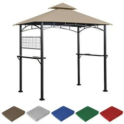 Garden Winds Replacement Canopy for Tile Grill Gazebo - RipL