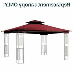 Maroon Replacement Gazebo Canopy for 10 x 12 Regency II Pati