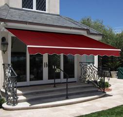 Retractable Awning Canopy Patio Sun Shade Door Window Garden