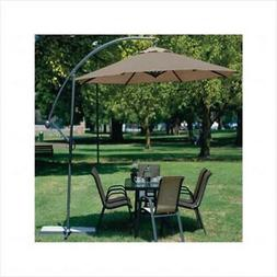 Coolaroo 10' Round Aluminum Cantilever Umbrella, Multiple Co