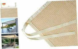 Shade Panel Block 90% of UV Rays with Ready-tie up Ribbon fo