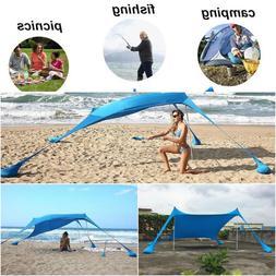 Sun Shade Shelter Beach Sunshade And Gazebo Tent - 210 X 210