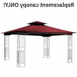 Sunjoy Maroon Replacement Gazebo Canopy for 10 x 12 Regency